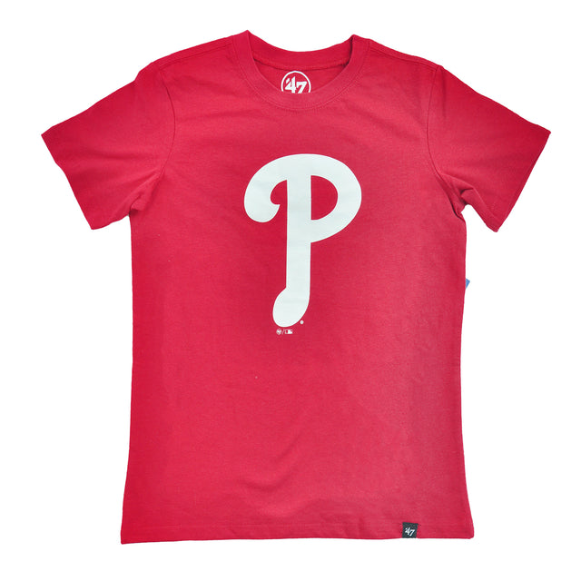 Phillies Red Imprint Super Rival Kids Tee