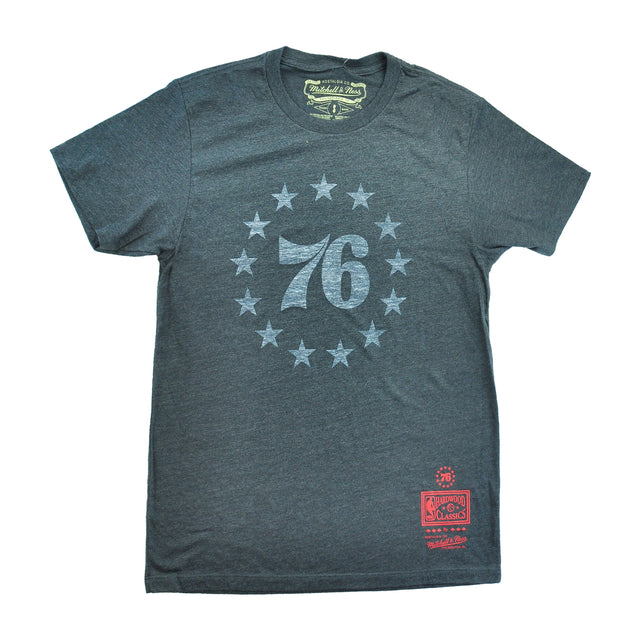 Sixers Vintage Washed 76 Circle Stars