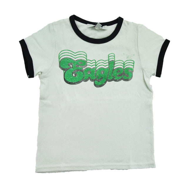 Eagles Girls Retro Glittery Tee