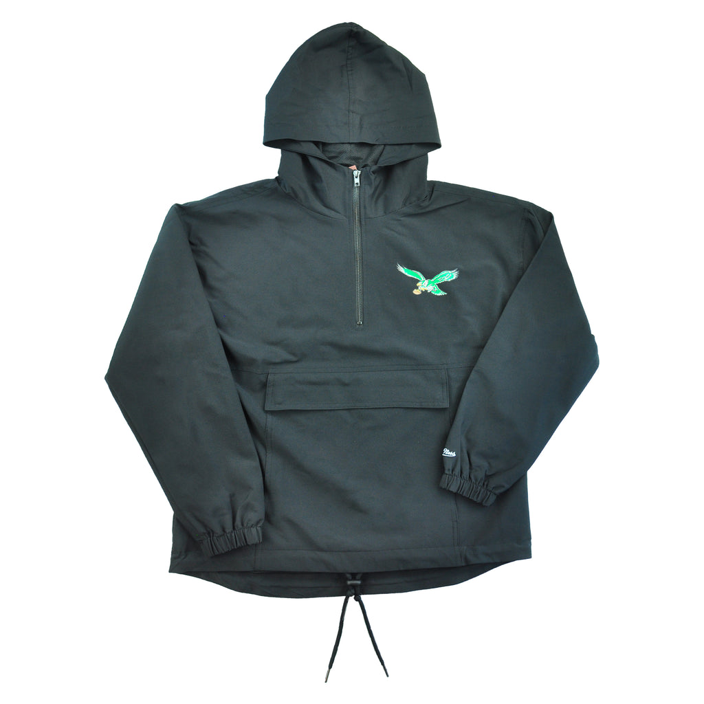 Eagles Womens Gametime Anorak Hoodie