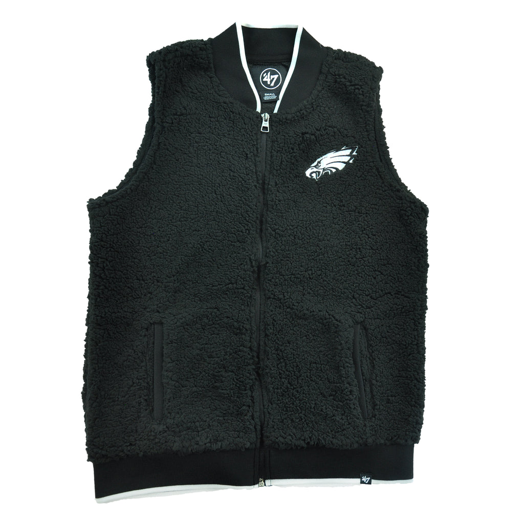 Eagles Legacy Sherpa Vest Womens