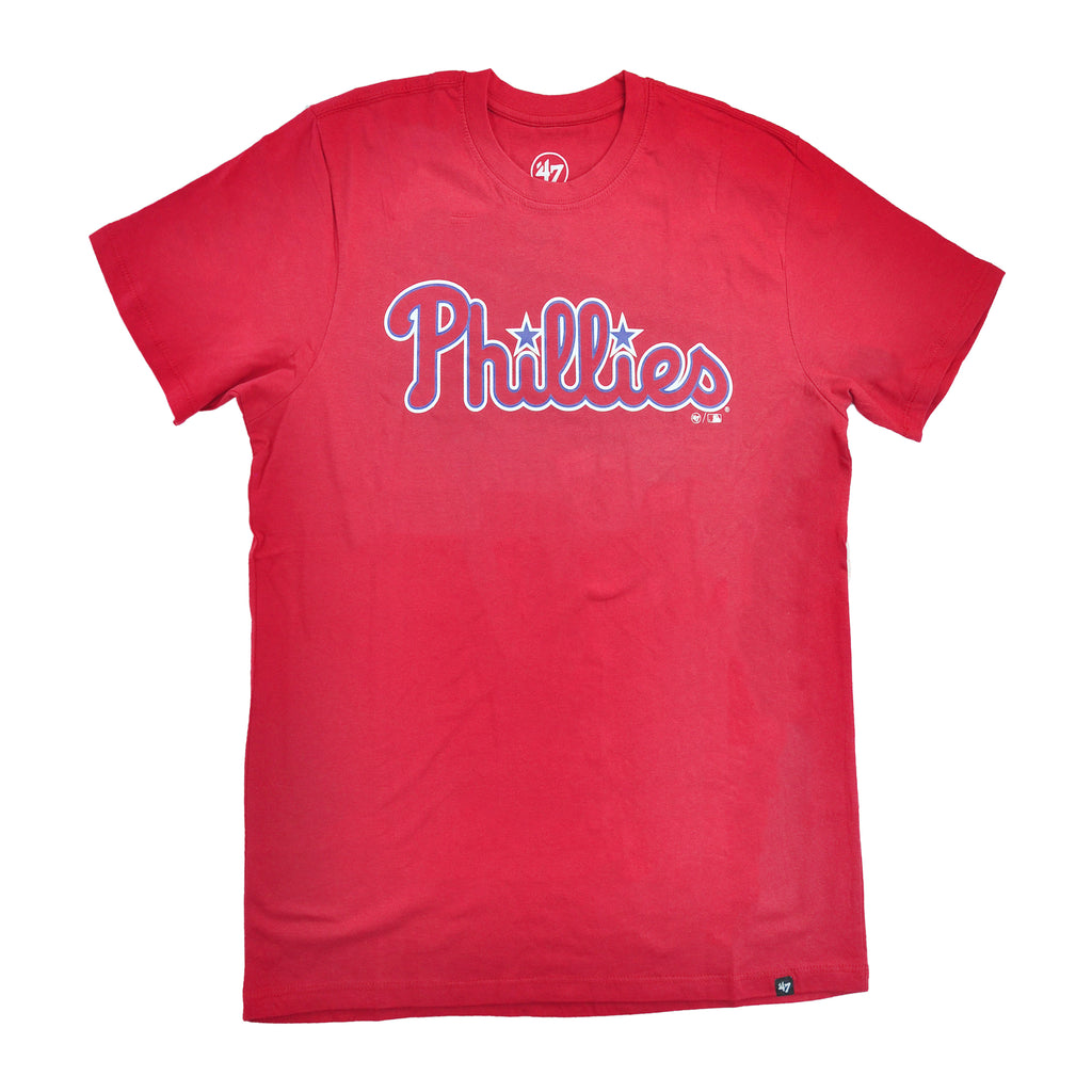 Phillies Wordmark Super Rival Tee