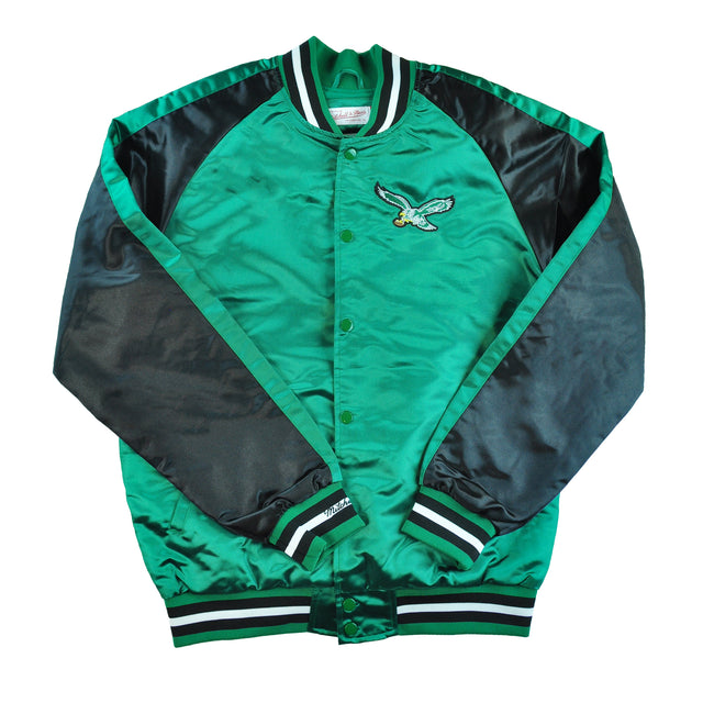 Eagles Color Blocked Satin Jacket