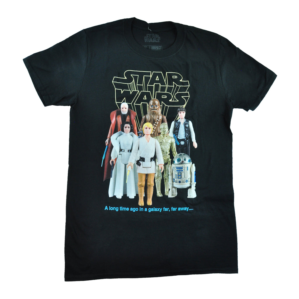 Star Wars Good Guys Action Figures Tee
