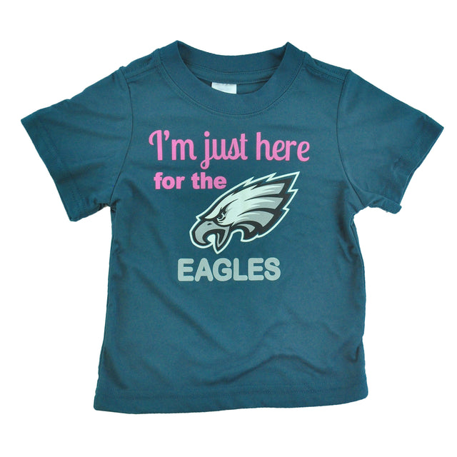 Here for The Eagles Girls Tee