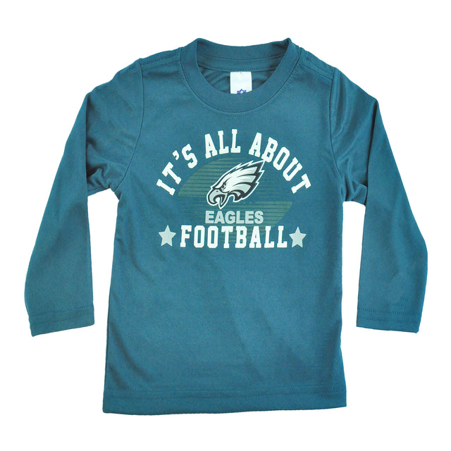 All About Eagles Football Toddlers Tee