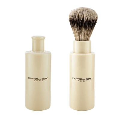 Carter and Bond Travel Turn Back Brush - Huckle The Barber