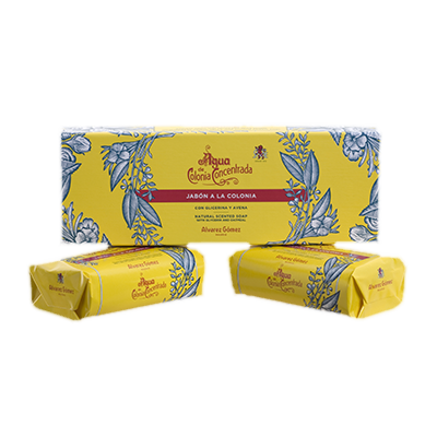 Agua De Colonia Twin Soap Bar