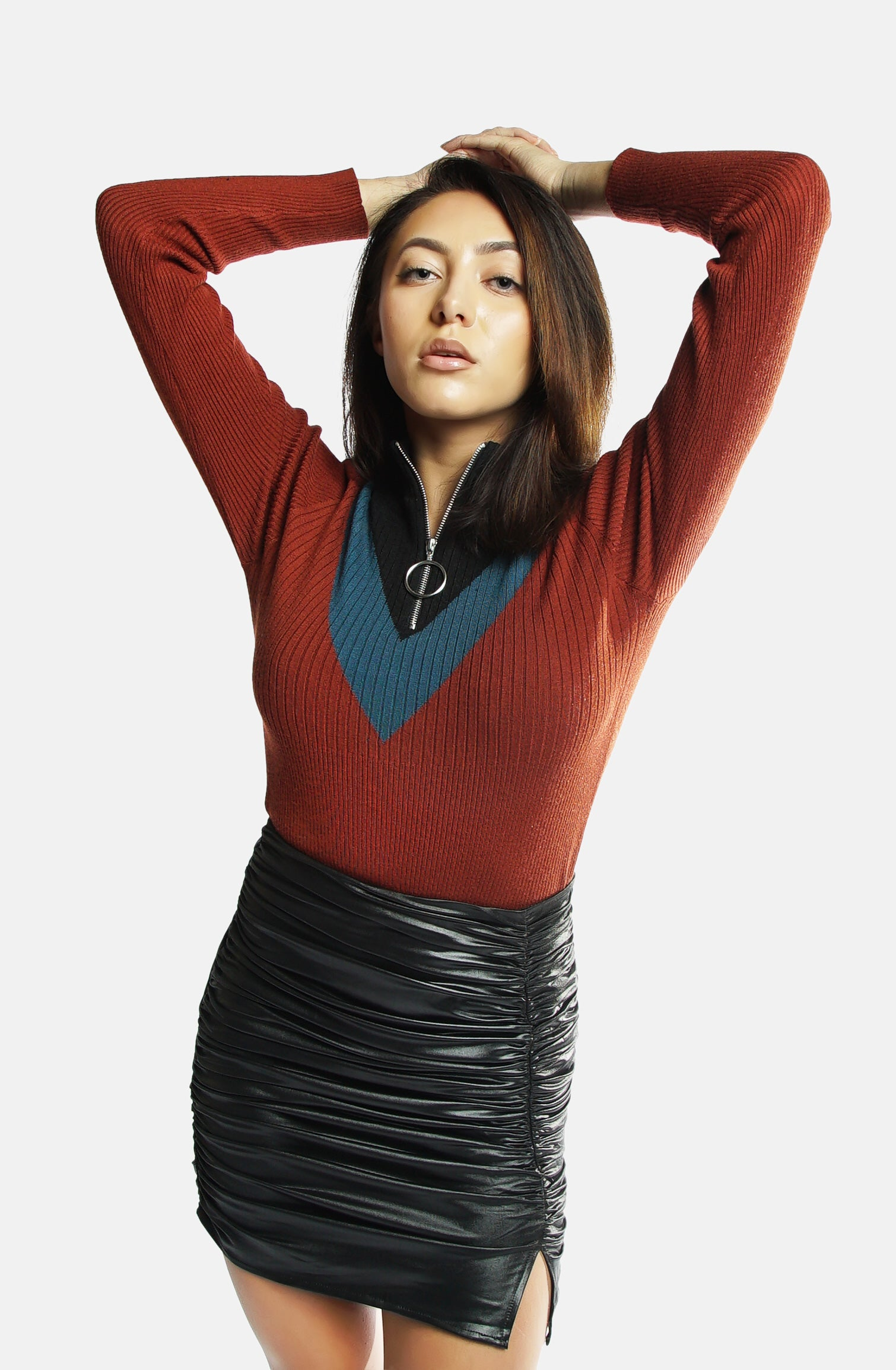 Spock Varsity Zip Sweater