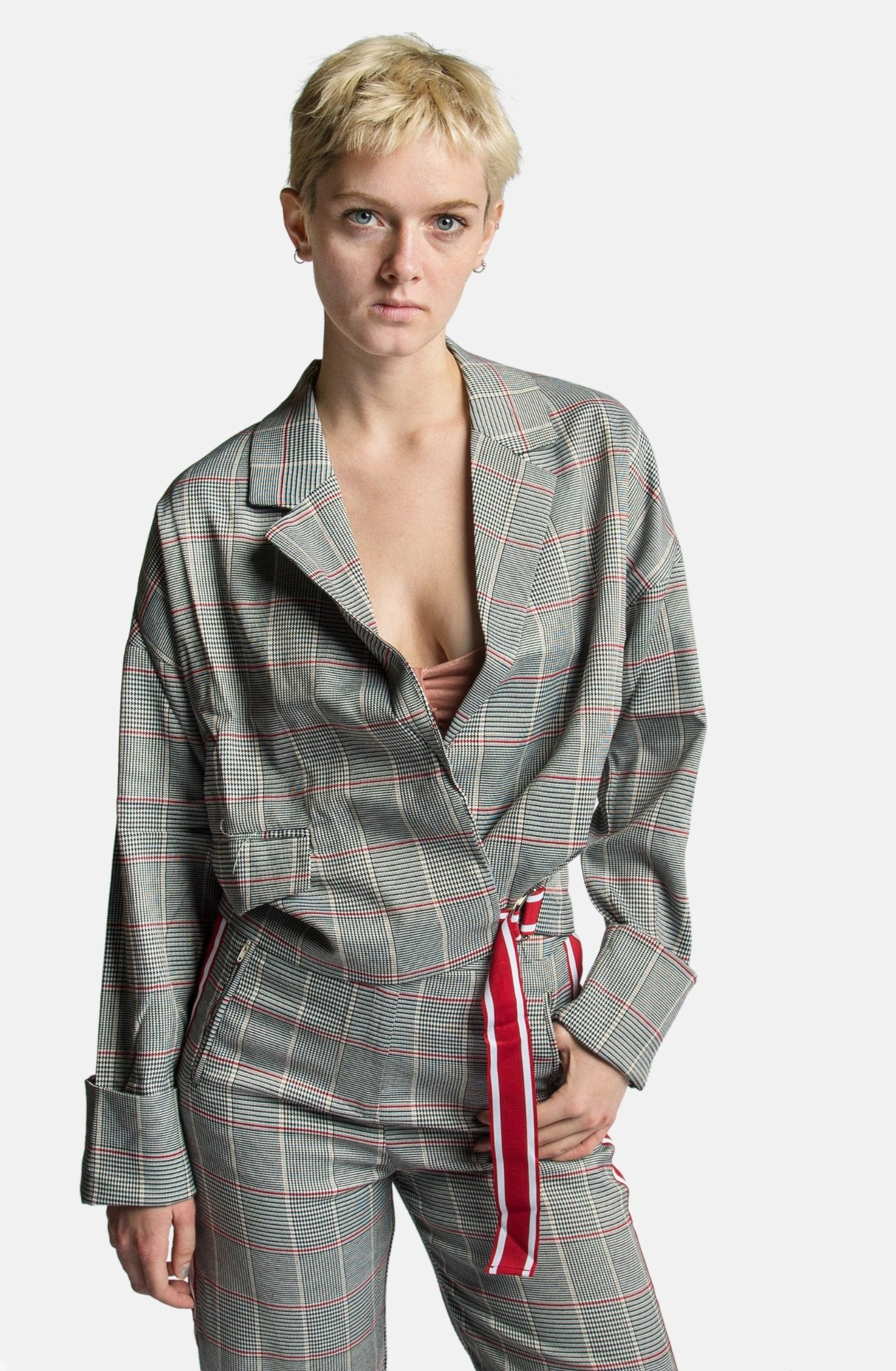 Plaid Casie Blazer