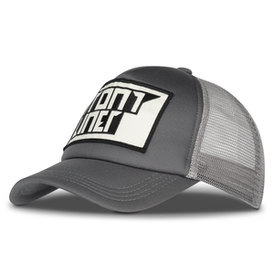 Cap - Grey Trucker