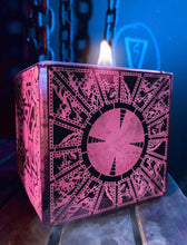 Load image into Gallery viewer, Pink Lament Configuration Box Candle