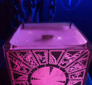 Pink Lament Configuration Box Candle