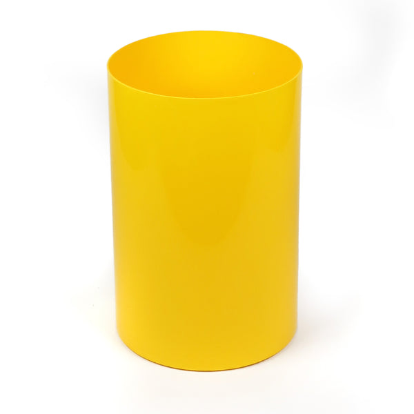 Vintage Yellow Kartell Trash Can