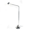 Vintage Chrome Gooseneck Reading Lamp by Vrieland Design