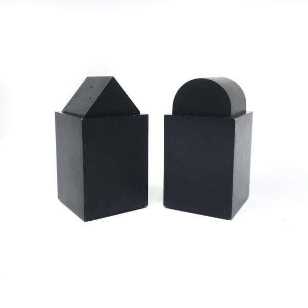 Post Modern Black Salt & Pepper by David Tisdale for Elika