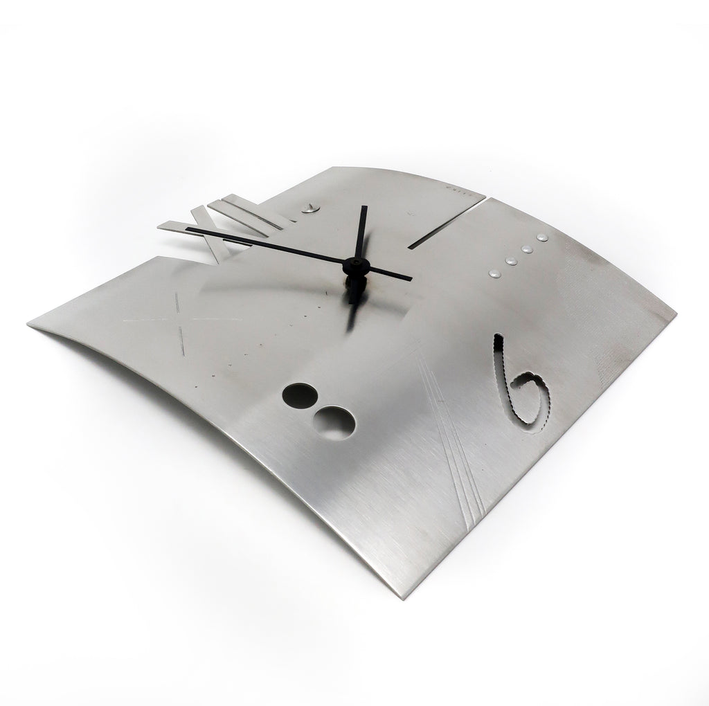 Laborious Clock by Constantin Boym for Elika (1989)