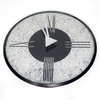 1980s Post Modern Wall Clock by Empire Arts