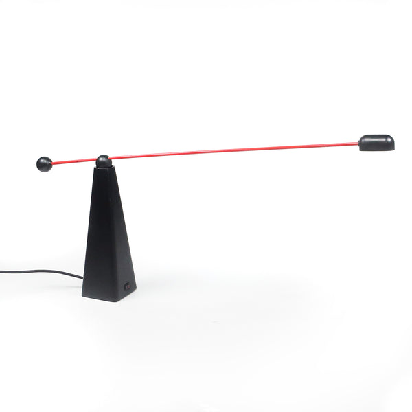 Red Orbis Lamp by Ron Rezek for Artemide