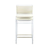 Pair of White Spaghetti Bar Stools
