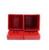 Vintage Red Dansk Storage Containers