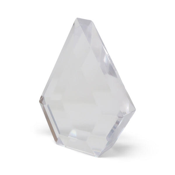 1970s Vintage Lucite Diamond Sculpture