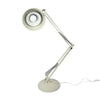 White Luxo Articulating Desk Lamp