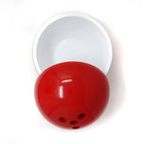 Vintage Italian Red Bowling Ball Ice Bucket