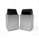 Post Modern Aluminum Salt & Pepper by David Tisdale for Elika