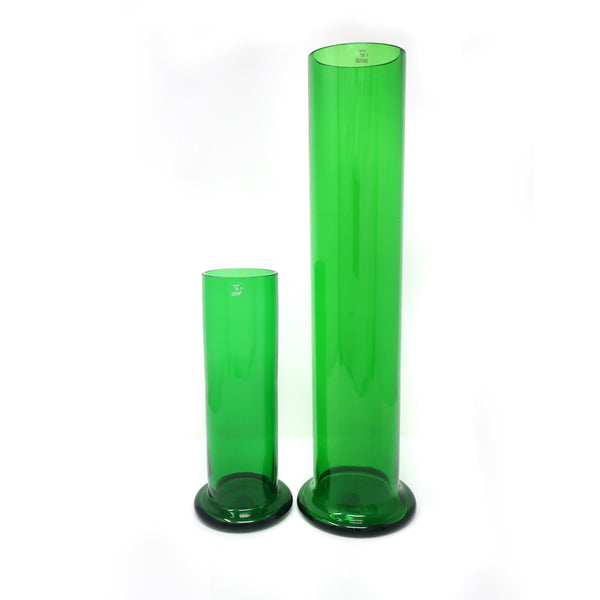Jasper Morrison for Cappellini Large Green Glass Vase