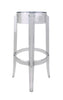Charles Ghost Stool by Philippe Starck for Kartell