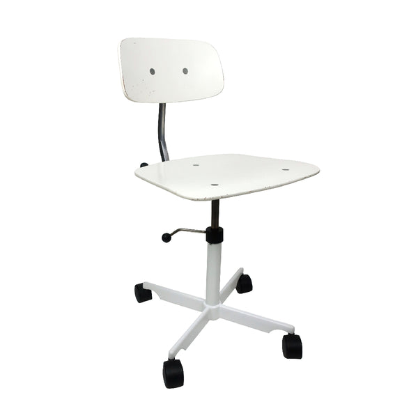White Kevi Desk Chair