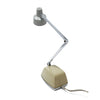 Vintage Gray and Chrome Tensor Folding Desk Lamp