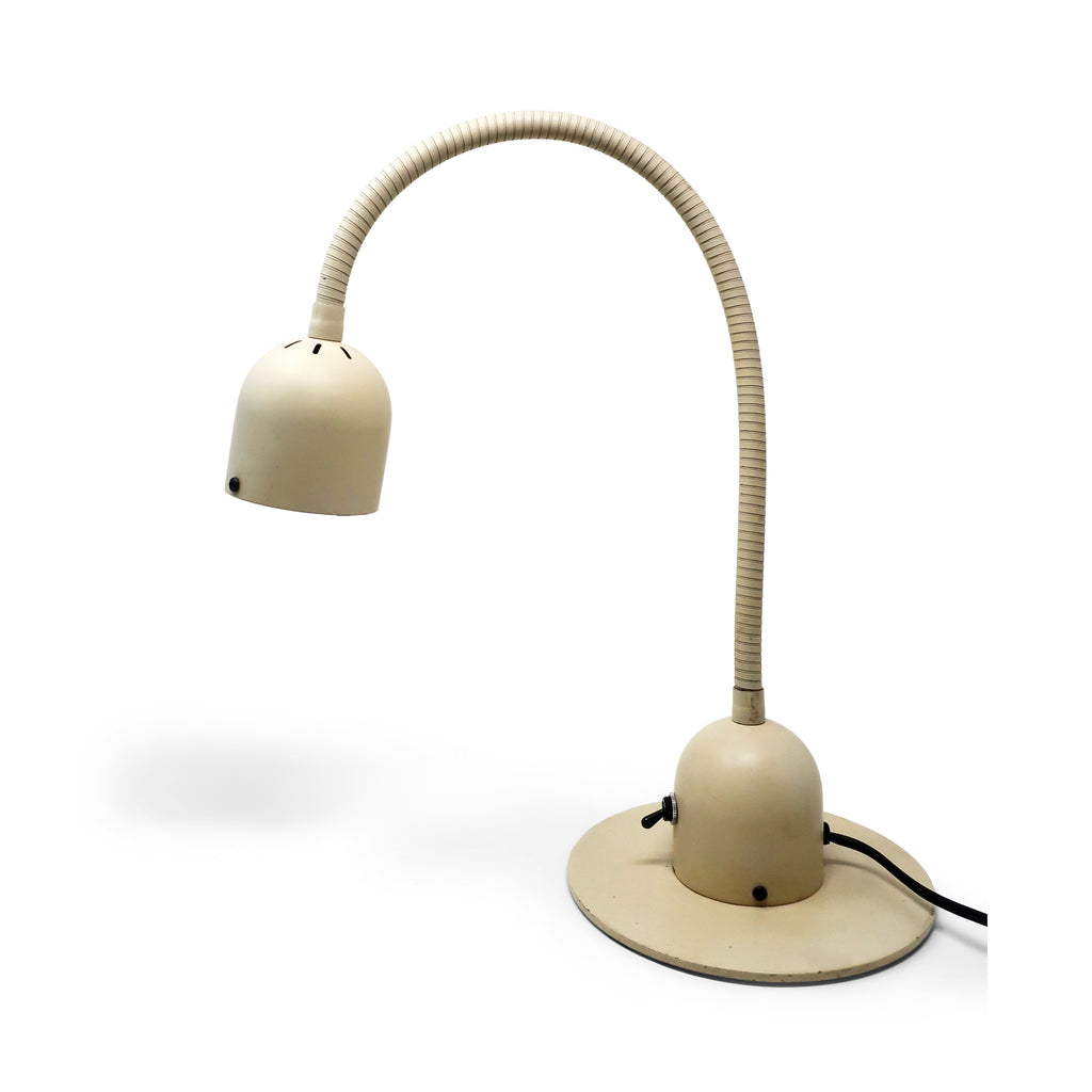 1970s Cream Electrix Gooseneck Desk Lamp