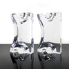 Astrolite Lucite Bookends by Ritts Co. of Los Angeles