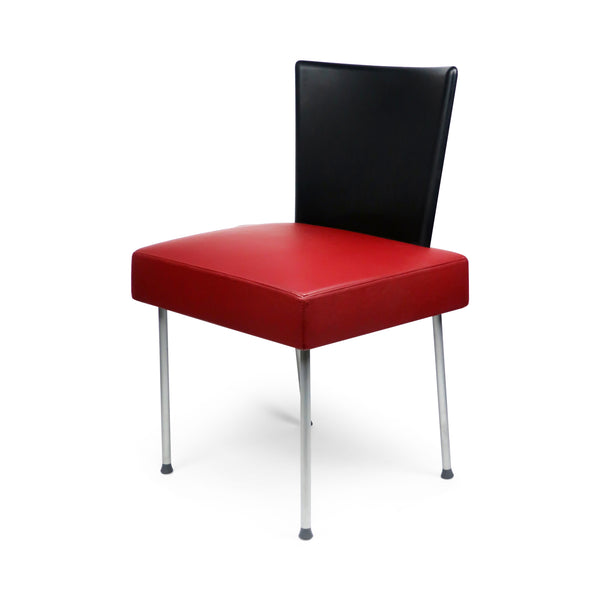 Maroon Calvi Chair by Gijs Papavoine for Montis