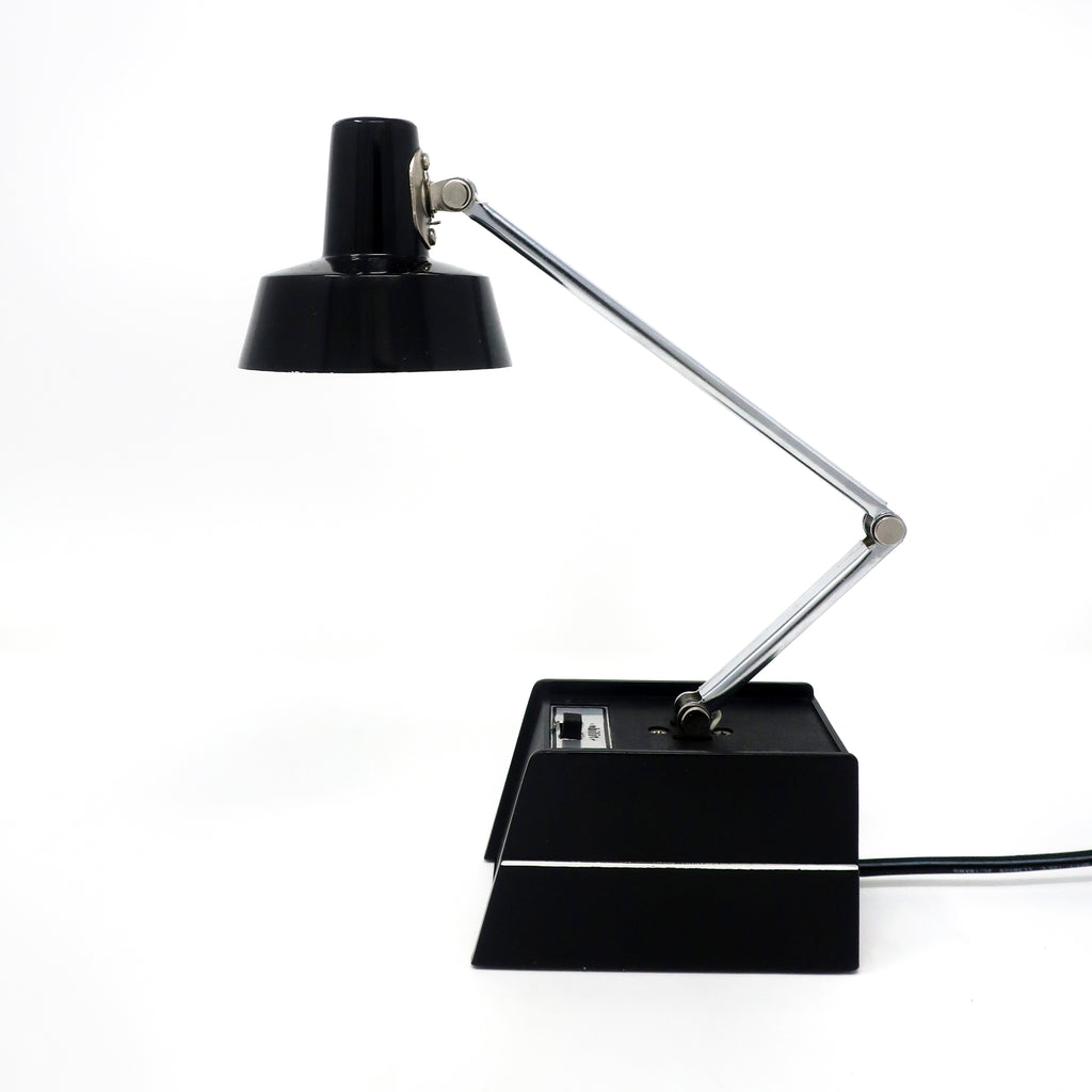 Vintage Black Mobilite Desk Lamp