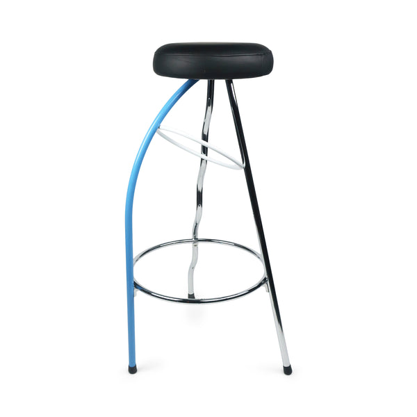 Blue Duplex Bar Stool by Javier Mariscal for BD Barcelona