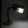1970s Brown Metal Desk Lamp