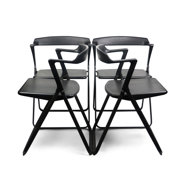 Set of 4 Blitz Folding Chairs by Motomi Kawakami for Skipper