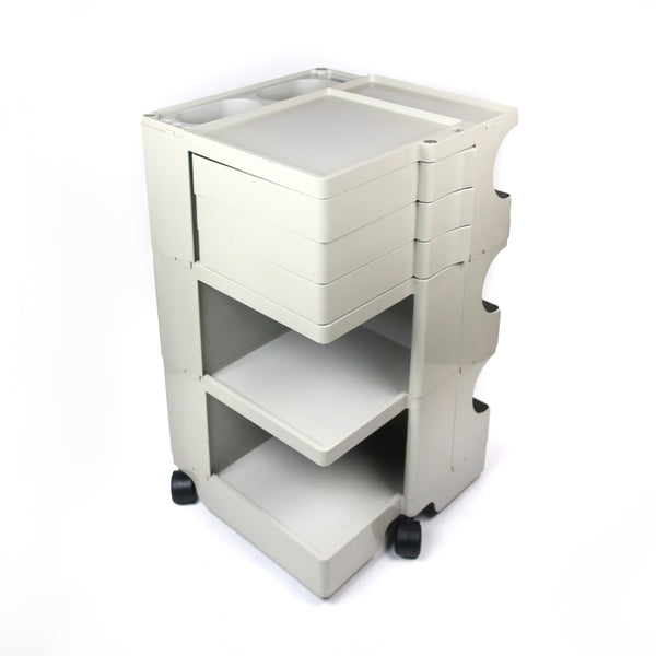 Gray Boby Cart by Joe Colombo for Bieffeplast