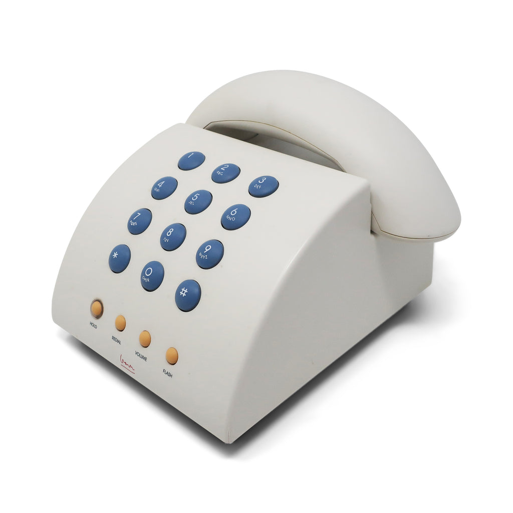 White Postmodern MG1000 Telephone by Michael Graves