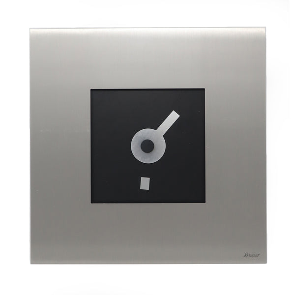1980s Modernist Kieninger Wall Clock