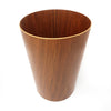 Scandinavian Modern Teak Wastebasket by Rainbow Wood