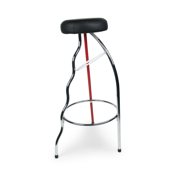 Red Duplex Bar Stool by Javier Mariscal for BD Barcelona