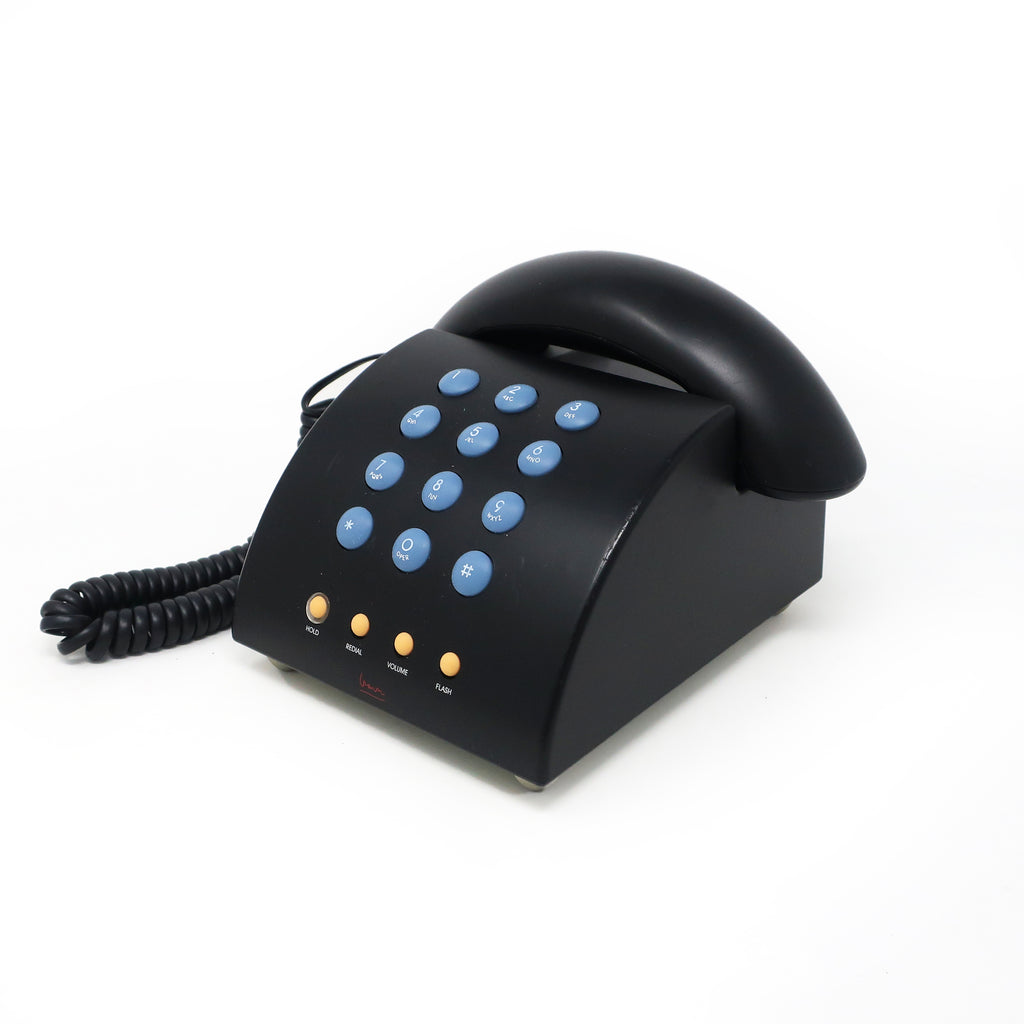 Black Postmodern MG1000 Telephone by Michael Graves
