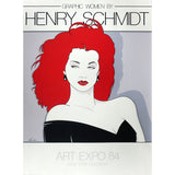 "1980s ""Graphic Women"" Serigraph by Henry Schmidt"
