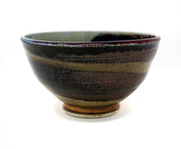 Colorful Vintage Handmade Ceramic Bowl