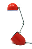 Vintage Red Folding Pill Desk Lamp