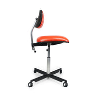 Orange Herman Miller Kevi Desk Chair